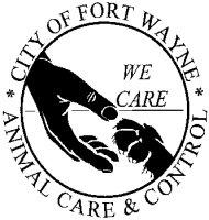 Fort Wayne Animal Care & Control logo.