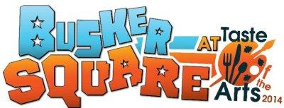 Busker Square at Taste of the Arts 2014.
