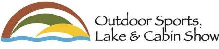 Outdoor Sports, Lake & Cabin Show logo.