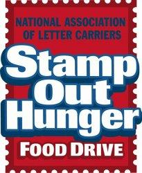 Stamp Out Hunger logo.